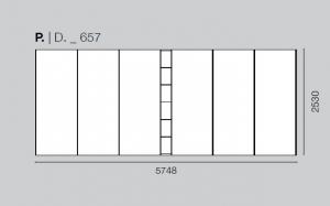 Camera da letto HNC005