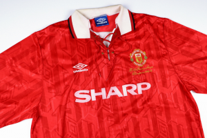 1993-94 MANCHESTER UNITED MAGLIA 'Premier League Champions' HOME XXL (TOP)