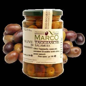 Olive taggiasche in salamoia 180 g