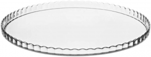 Piatto torta in vetro cm.2,3h diam.32