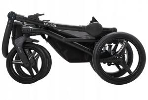Torino Tex 01 - Bebetto - 3 in 1 - tonalità di grigio constampa - ovetto nero.
