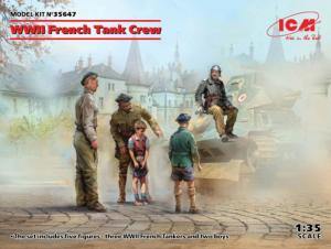 WWII French Tank Crew