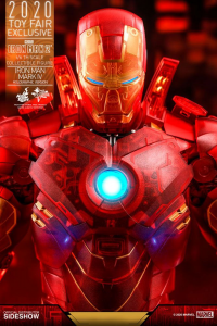 Hot Toys 1/6 - Iron Man 2: MMS568 Mark IV (Holographic Version) 2020 Toy Fair Exclusive