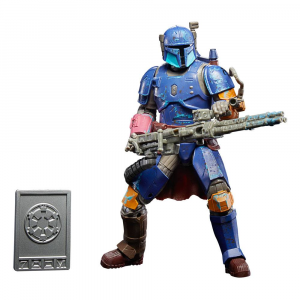 Star Wars: Black Series (Credit Collection) The Mandalorian HEAVY INFANTRY MANDALORIAN by Hasbro