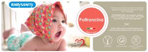 Morbida Poltroncina con Rivestimento in Cotone Sfoderabile  (Cuoricino Seduta Bianca) related image