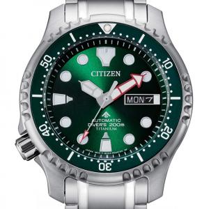 Citizen Diver's Automatic 200 mt - Super Titanio, Verde