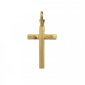 Ciondolo Croce Oro18kt