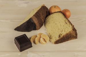 Panettone con mandarino di Ciaculli e cioccolato