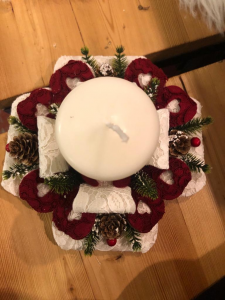 Kit porta candela