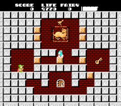 Solomon's Key - loose - USATO - NES