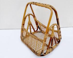 Portariviste vintage in bambù Bonacina
