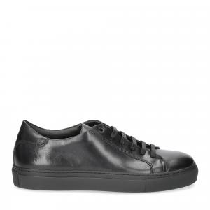 Corvari sneaker 1215 pelle nera-4