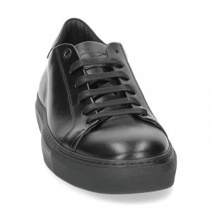 Corvari sneaker 1215 pelle nera-5