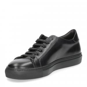 Corvari sneaker 1215 pelle nera-6