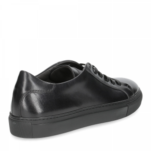 Corvari sneaker 1215 pelle nera-7