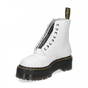 Dr. Martens Anfibi donna sinclair white aunt sally-6