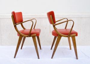 Coppia sedie vintage danesi