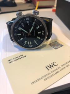 Orologio secondo polso Iwc Aquatimer
