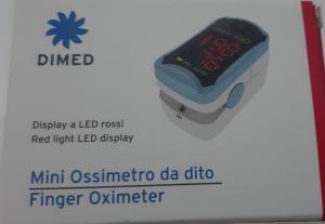 Pulsiossimetro a dito Moretti LTD801
