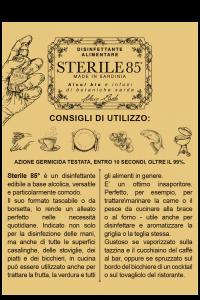 STERILE 85°