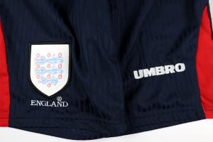 1997-99 Inghilterra Pantaloncini Shorts Home 36