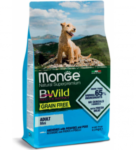 Monge - BWild Grain Free - Mini Adult 2.5 kg