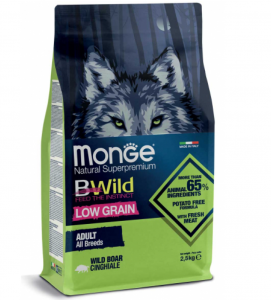 Monge - BWild Low Grain - All Breeds Adult 12 kg