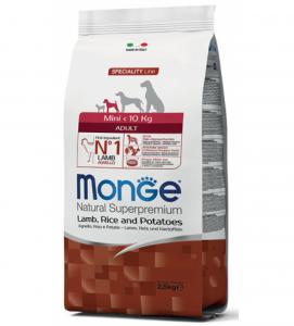 Monge - Natural Superpremium - Mini - Adult - 7.5 kg x 2 sacchi