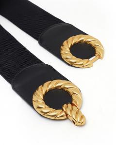 Cintura Vivian elastica nera Nalì