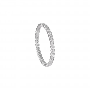 Anello Eternity Diamanti ct.0,10 - Main view - small