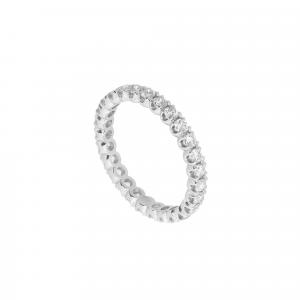 Anello Eternity Diamanti ct.0,50 - Main view - small