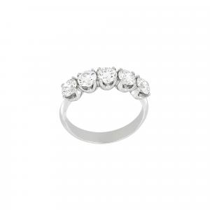 Anello Fedina Diamanti ct.0,20 - Main view - small