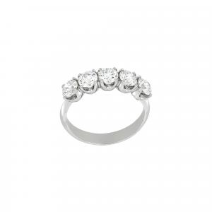 Anello Fedina Diamanti ct.0,45 - Main view - small