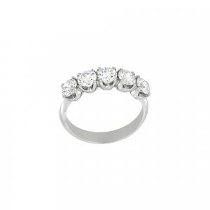 Anello Fedina Diamanti ct.0,65 - Main view - small