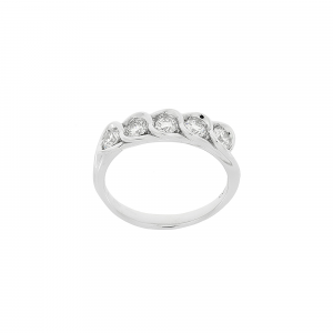 Anello Fedina Diamanti ct.0,40 - Main view - small
