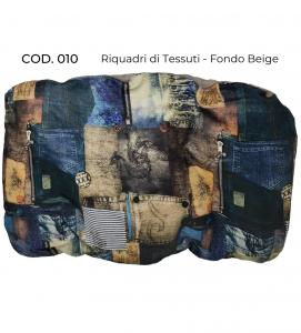 Homerdog - Cuscino Ovale Sfoderabile - Cotone/PVC - mis. 5