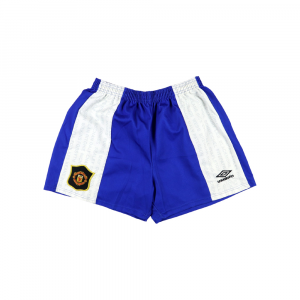 1994-96 Manchester United Pantaloncini XL Away