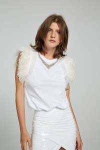 Top gioiello Ker bianco Aniye By