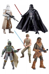 Star Wars Action Figure: Black Series (Classic Box): Empire Strike Back 40th Anniversary SERIE COMPLETA by Hasbro