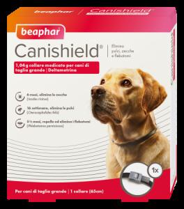 Beaphar - Collare Antiparassitario - Canishield - Taglia grande - 2pezzi SCAD. 13/05/21