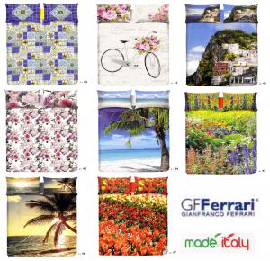 GF FERRARI TOP CLASS Lenzuolo Copriletto Singolo, 1 piazza e mezza, Matrimoniale