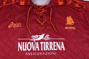 1994-95 Roma Maglia Home XL