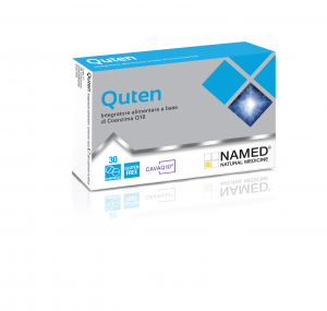 NAMED QUTEN - INTEGRATORE ALIMENTARE A BASE DI COENZIMA Q10 UTILE COME ANTIOSSIDANTE, NAMED 30 CAPSULE