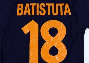 2000-01 Roma Maglia Terza #18 Batistuta XL (Top)
