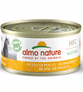 Almo Nature - HFC Cat - Natural - Adult - 70g x 24 lattine