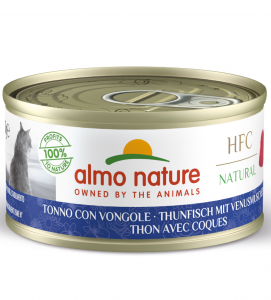 Almo Nature - HFC Cat - Natural - Adult - 70g x 6 lattine