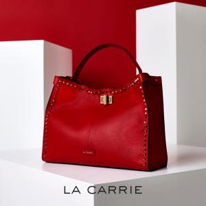La Carrie Shopper Rosso