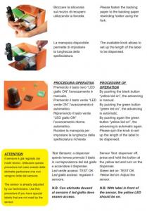 Dispenser Etichette-Modello BED01