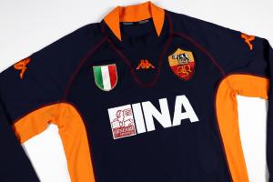 2001-02 Roma Maglia Terza  XL (Top)