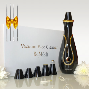 Dispositivo Vacuum per il viso- Nero
